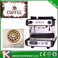 high quality low price italy cappuccino commercial espresso coffee maker machine for shop