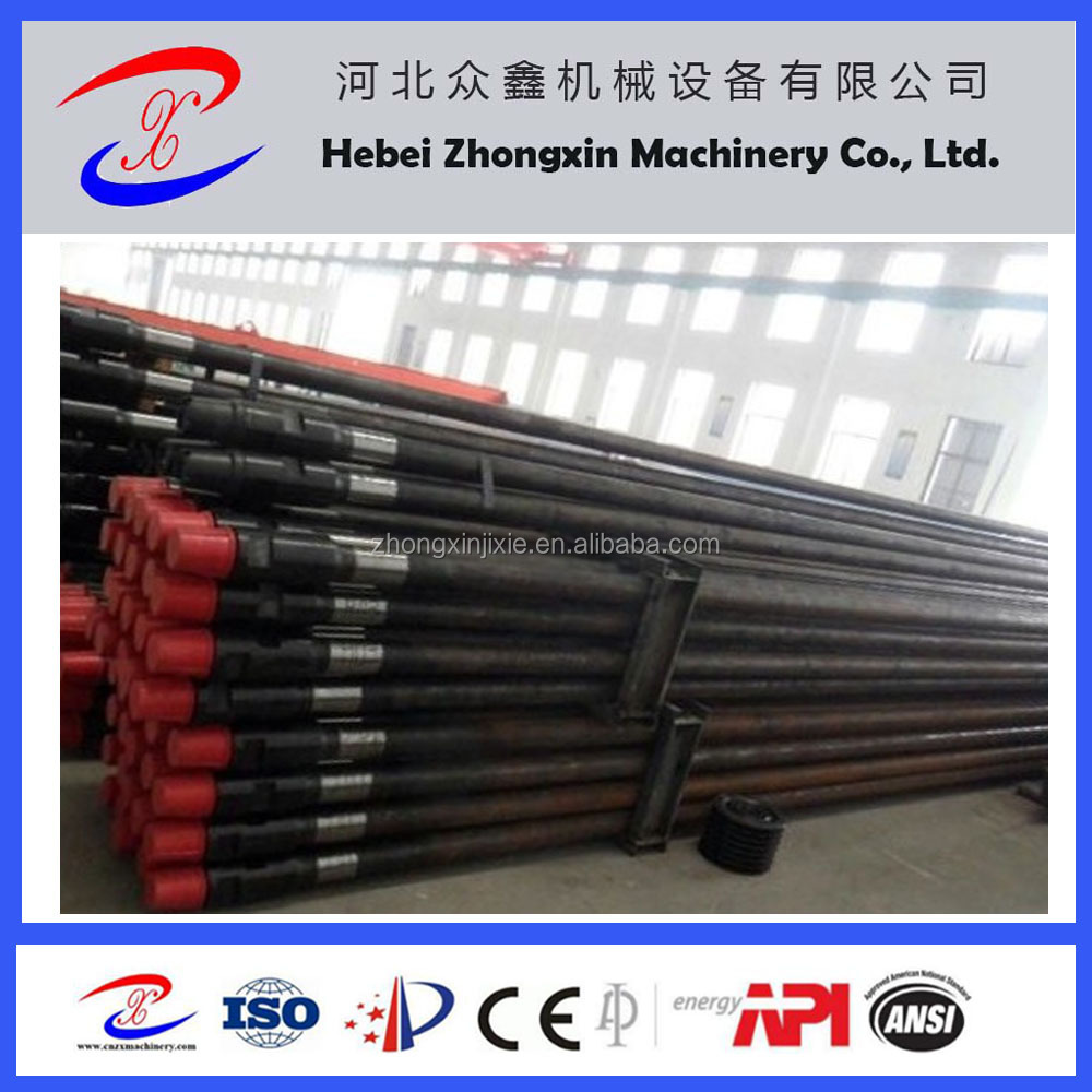 High Steel DTH Drill Pipes for Rock Drilling Tools, Steel Drill Pipe, Mild Steel Pipes