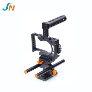 Professional Aluminum Alloy camera cage photography dslr rig kit set for Sony A6500 ILDC