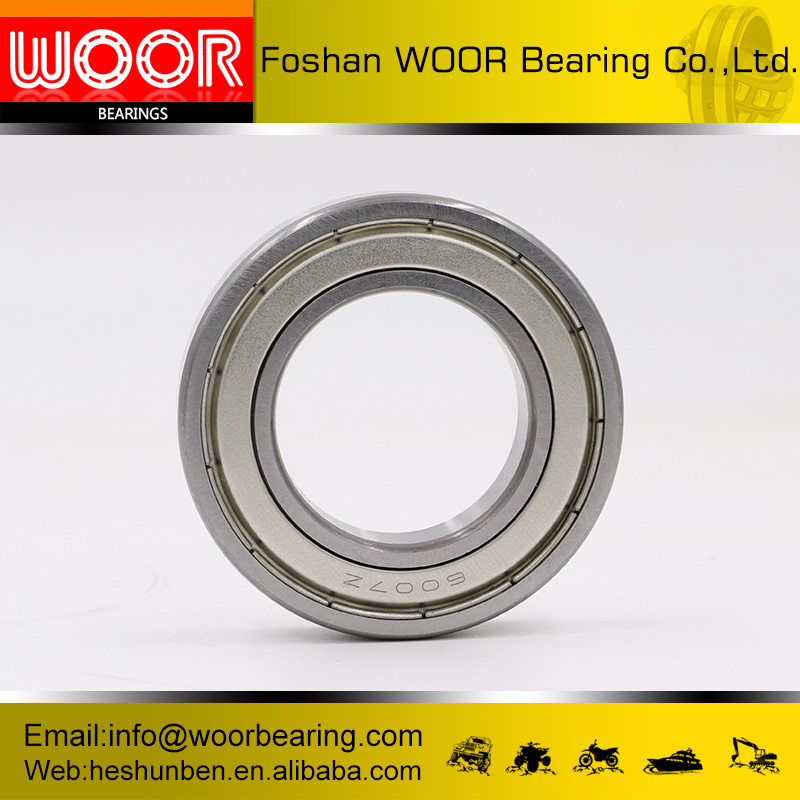 China supplier wear resistant deep groove ball bearing radial clearance