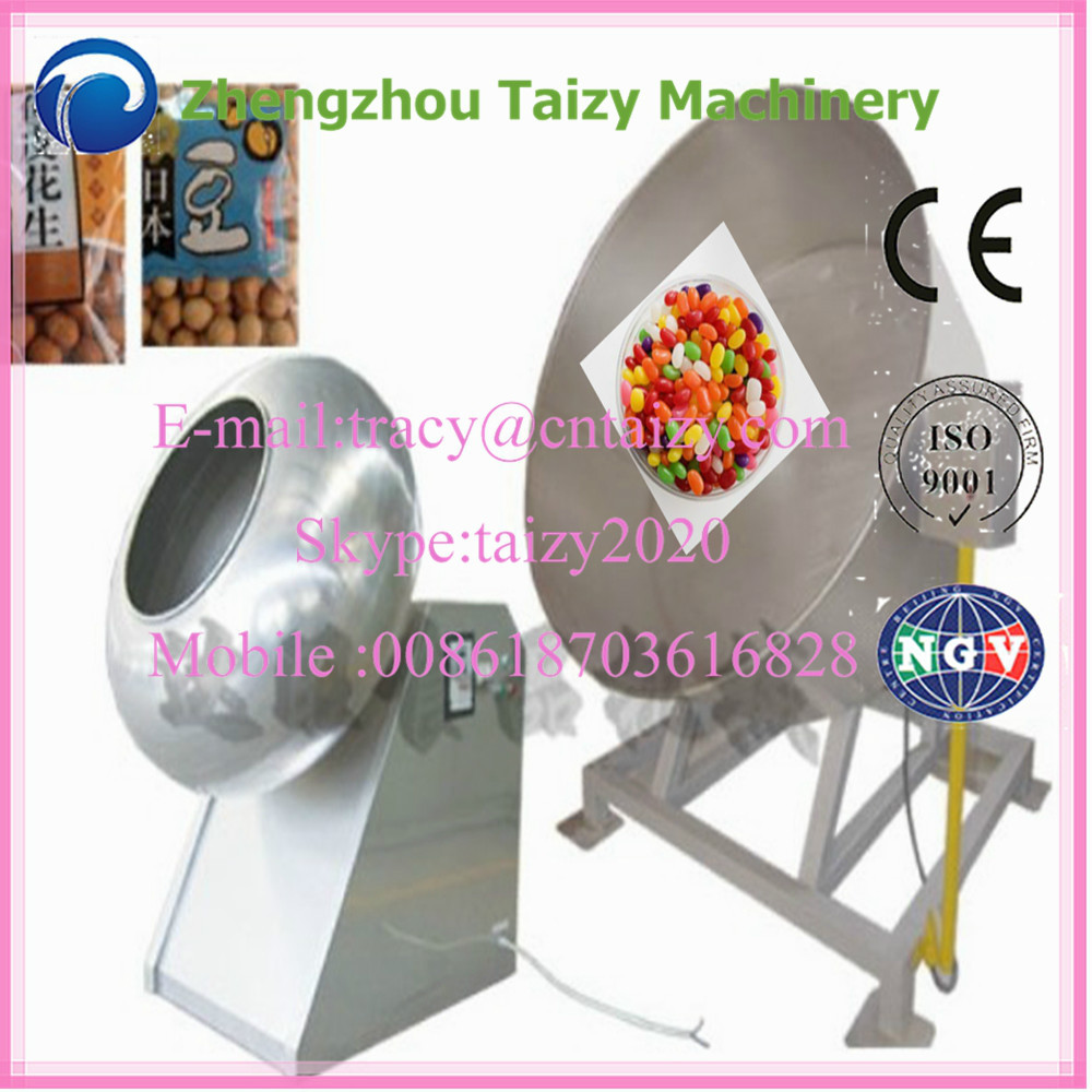 nuts/candy/tablet/peanut glazing machine