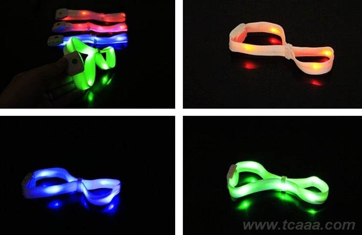 2015 New Sale remote control fashion led light bracelet