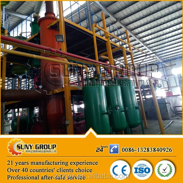 National standard waste plastic pyrolysis to oil equipment