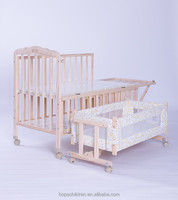 cheapest solid wooden baby bed / crib for new born baby MB-998GY
