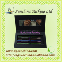 Practical Paper Eyeliner Case for Cosmetic Packaging