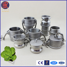 Stainless steel camlock couplings &hydraulic quick release coupling /connector