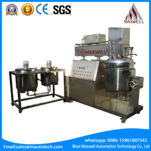 High viscosity chemical vacuum emulsifying homogenizer mixer Newest Semi-automatic Machine Price Complete Soap Making Machine