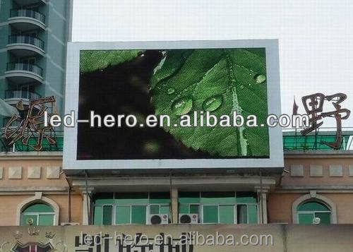Outdoor Advertising LED video Screen x video/ replacement led tv screen