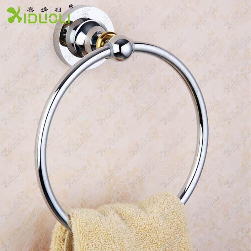 Aluminium hook with 5 hooks Wall hung aluminium bathroom towel hook