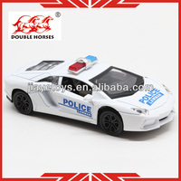 5012-6 police metal model car kits 2013 for kids pull back car 1 32 scale diecast model cars