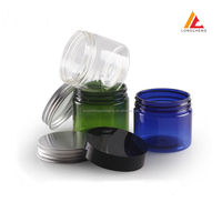 50g PET Cream Jar(with inner cap) plastic facial mask bottle