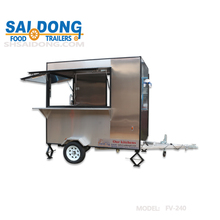 Saidong High Quality Mobile Food Carts Hot Dog Carts food kitchen truck for sale