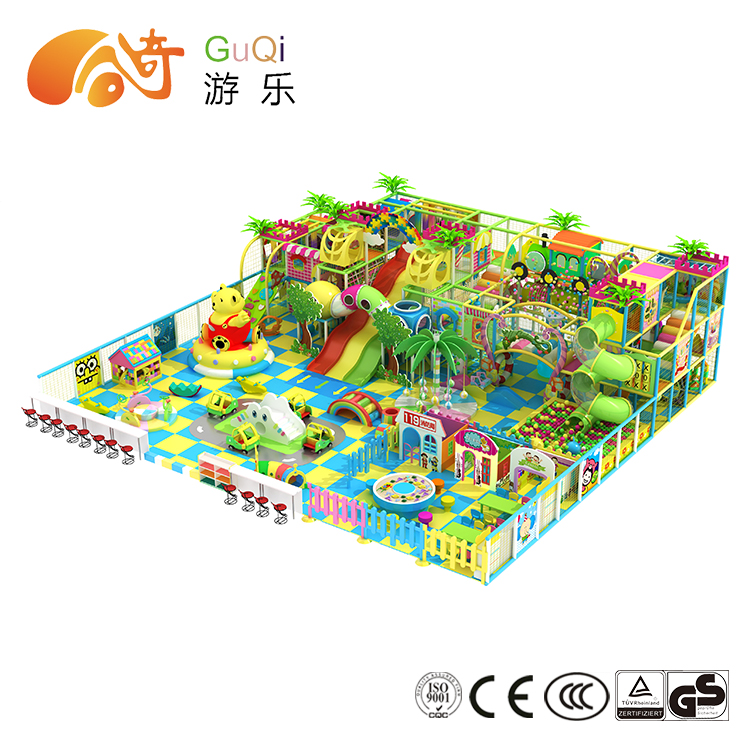 Kids play center indoor sports playground equipment for toddlers