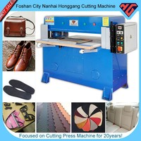 shoe factory equipment cutting press machine