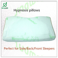 2015 new factory supply health pillow/Hypnosis pillows/memory foam neck pillow