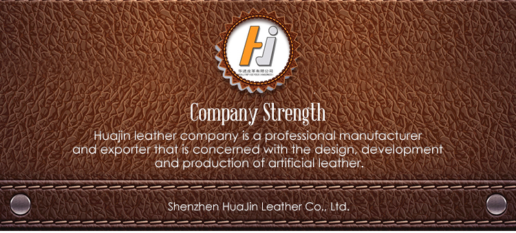 Fashion Synthetic PU Artificial Leather Used for Garment