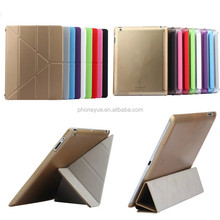 Ultra 4 Shapes Stand Smart Tablet PU Leather Cover Case for iPad 2/3/4