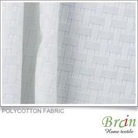 Fashion new design Polycotton gauze fabric curtains