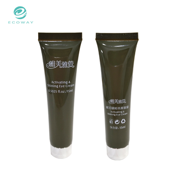 Hot sale 15ml eye cream soft tube with plastic cap for eye care use