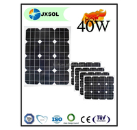 monocrystalline solar cell 40w solar panel for solar energy system