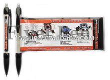 Professional Black Advertising Banner Sheet Pen, Flag Pen, Promotional Pull Out Cheap Banner Pen