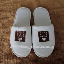 five star level open toe xl slippers with printing