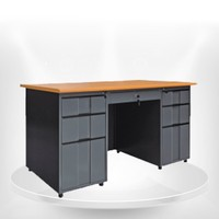 Perfect in shape and function metal office furniture steel table made in Euloong china