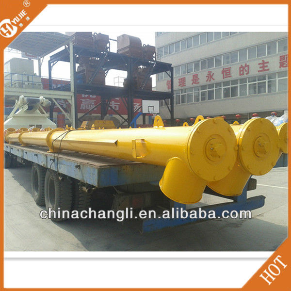 Construction Parts!LSY 273-4/6/8/9/10/12/15 Cement Discharge Augers for Concrete Mixing Plant