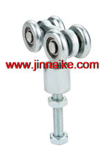 iron hanger roller wheels with bolt for cantilever gate manufacturer