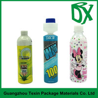 Manufacturer!Bottle neck plastic shrink sleeve bands for bottle with your own logo