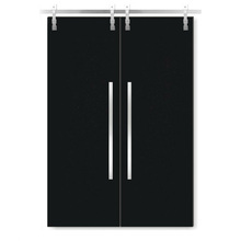 Modern design barn door hardware, sliding partition doors