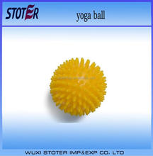 custom small size Hot sale PVC anti-burst meaagae yoga ball