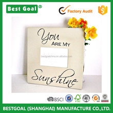 "Picture Frame ""You are My Sunshine""Wood Photo Frame"