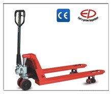 Industrial material handling equipment hydraulic hand pallet truck SYP2 with single tandem nylon PU wheel
