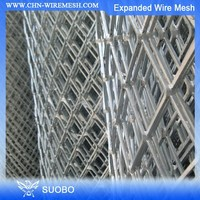SUOBO Security Fence Expanded Metal Sheet Pvc Coated Expanded Metal Lath Expanded Metal Bridge Fence