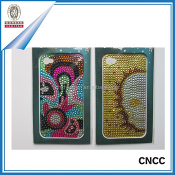 anti slip phone stickers crystal phone case