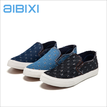 AIBIXI Manufacturers In India Fashion Man Sports Slip-On Denim Footwear