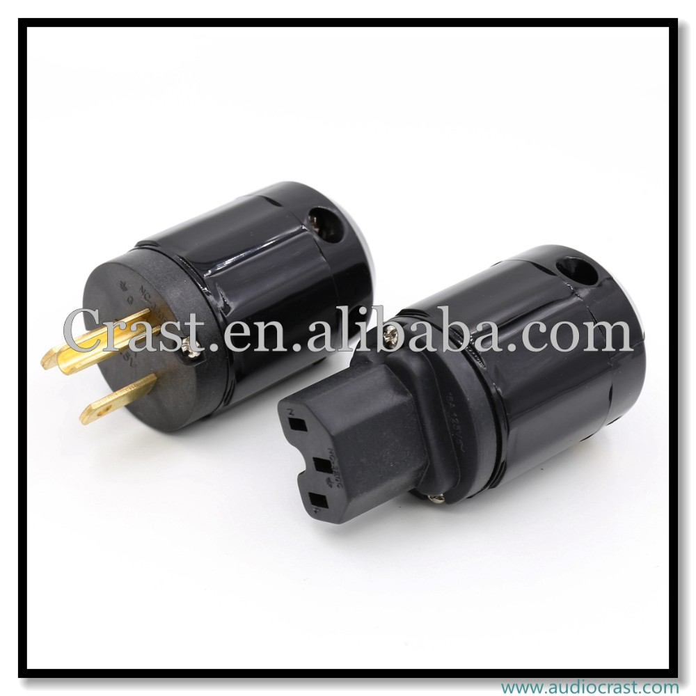 Customized made US mains connector+IEC Female Plug Eelectrical connectors