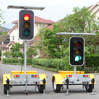 ODM Solar Powered Remote Control Stop Light Signs For Sale LED Traffic Signal Lights