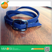 leather wristband PU bracelet with anti mosquito function