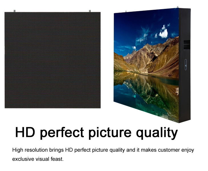 Shenzhen factory HD outdoor full color P8 LED display for advertising