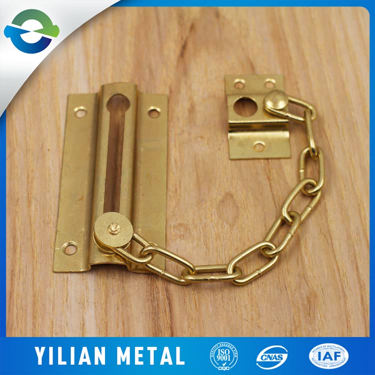 Supply the type of security door chain hotel anti-theft lock door latch tied to buckle