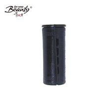 Large Black Plastic hair root fluffy perm rollers