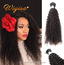 wholesale price african hair grey kinky curly human hair weaving in india