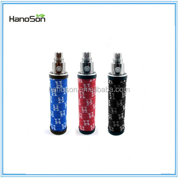 The hot selling e cig twist mechanical mod battery adjustable voltage ego battery 3200 mah