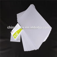 White Plastic Bank Cards and Gift Cards PVC Blank Card Sheet