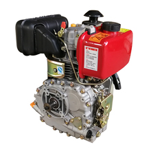 Factory cheap prices 4 stroke 5hp air cooled 1 cylinder marine diesel engine