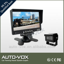 CE 7 inch tft lcd color monitor with LED camera