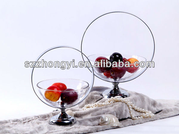 Creative Iron Fruit Tray Home Decoration
