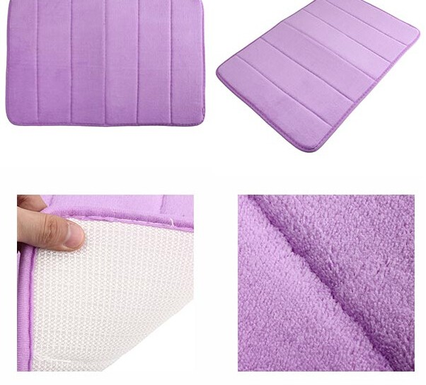 absorbent bath rug without rubber backing living life bath mats for